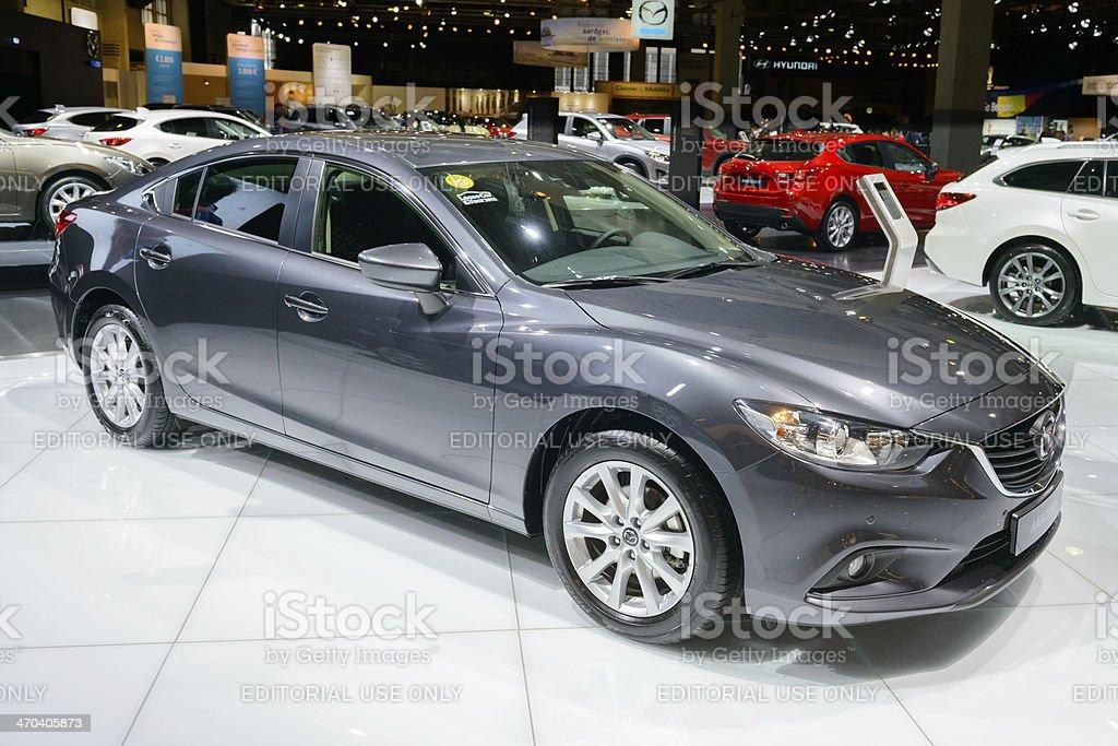 Mazda 6 Touring stock photo