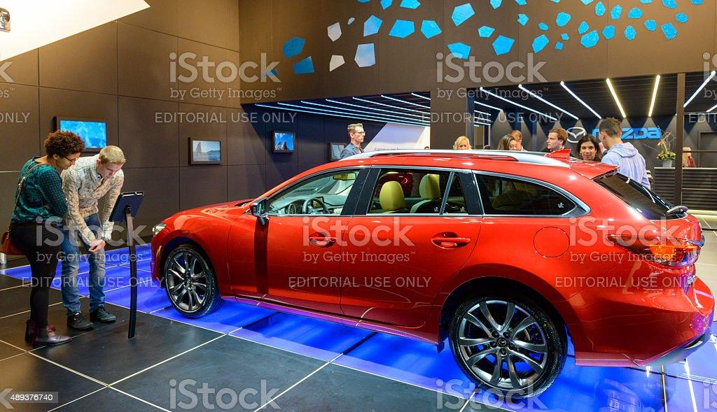 Mazda 6 Wagon estate car stock photo