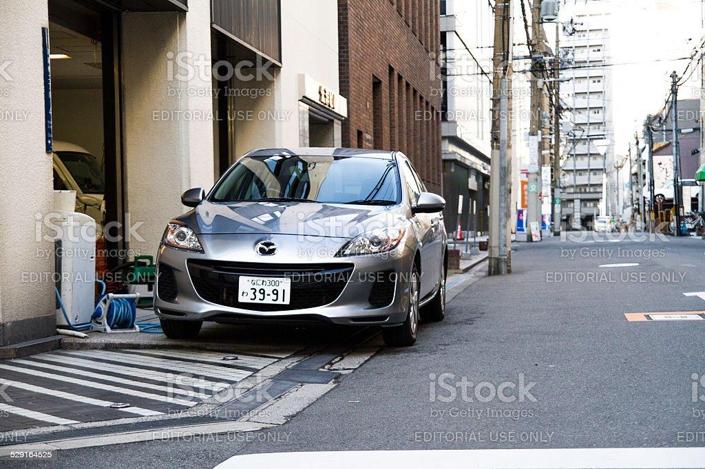 Mazda Car in Osaka - Japan stock photo