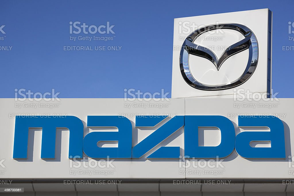 Mazda Motor Corporation stock photo