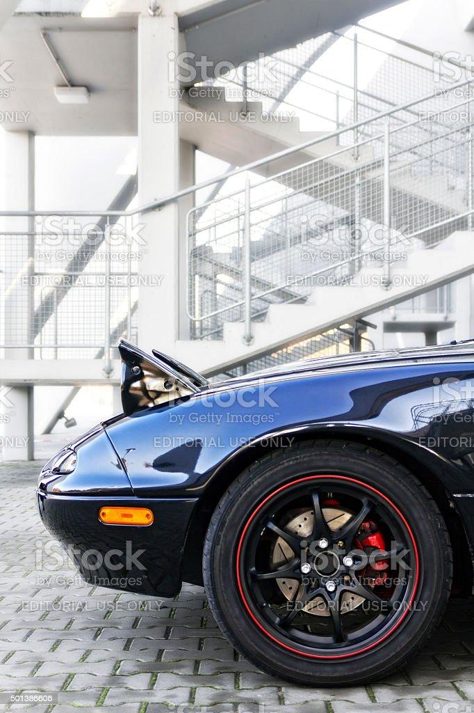Mazda Mx-5 stock photo