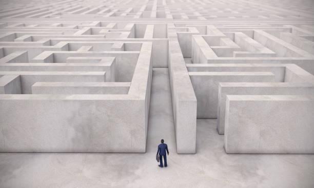 迷宮和商人 - 逆境 個照片及圖片檔