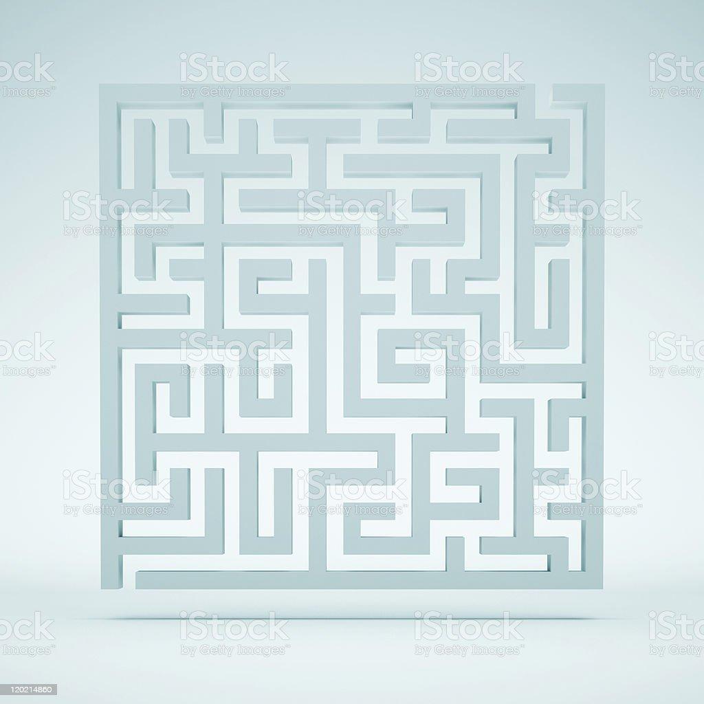 Maze Background stock photo