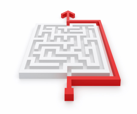 Maze Clever Solution
