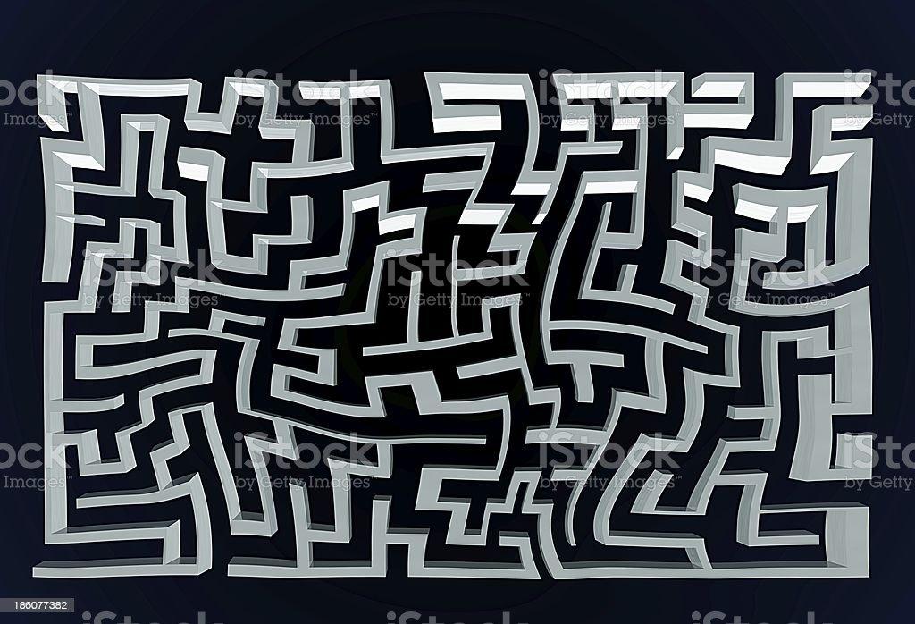 maze royalty-free stock photo
