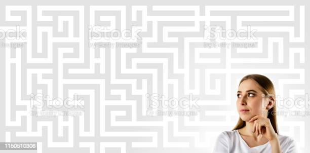 Maze young woman in white full of doubts and hesitation picture id1150510306?b=1&k=6&m=1150510306&s=612x612&h=jx6d93tecvvm9dfzwmomcqxnjr89nlq px08fs2ns1u=