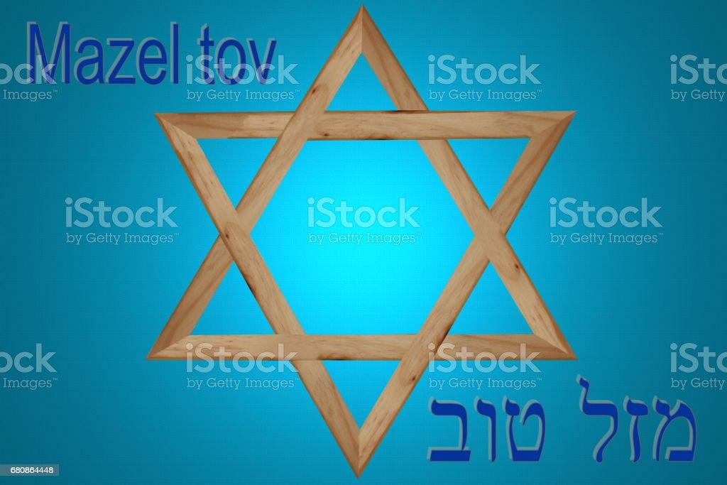 Mazel tov royalty-free stock photo