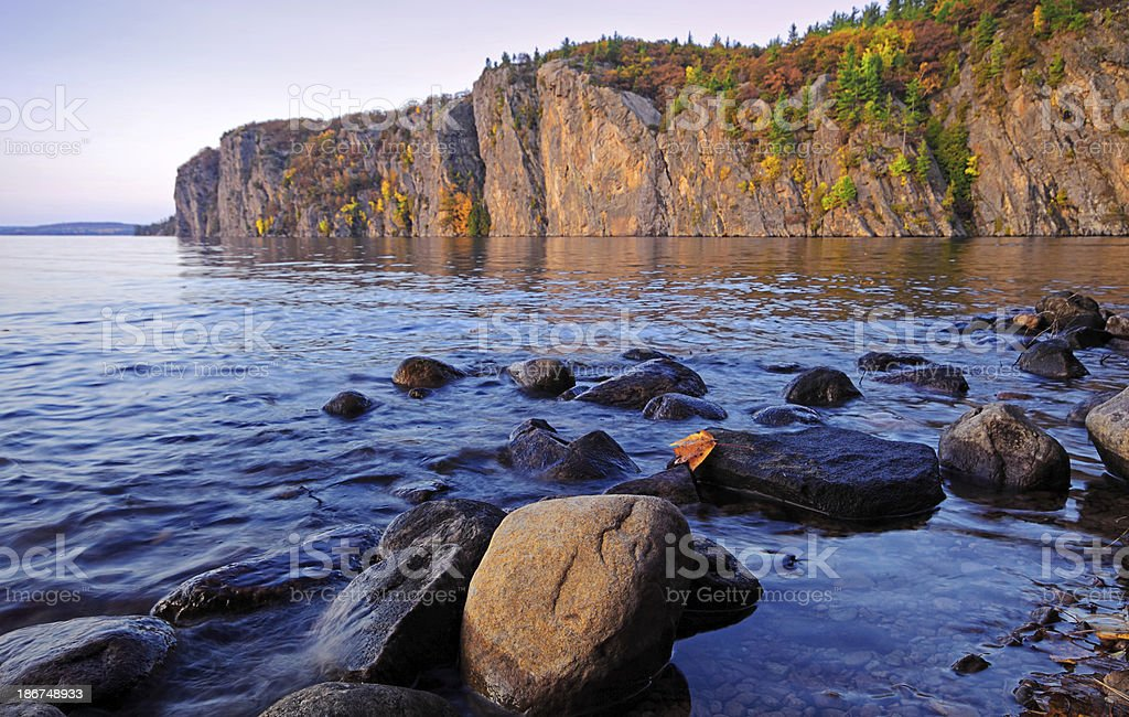 Mazinaw Rock stock photo