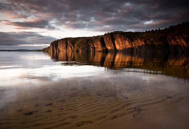 mazinaw rock - provincial park stock photos and pictures