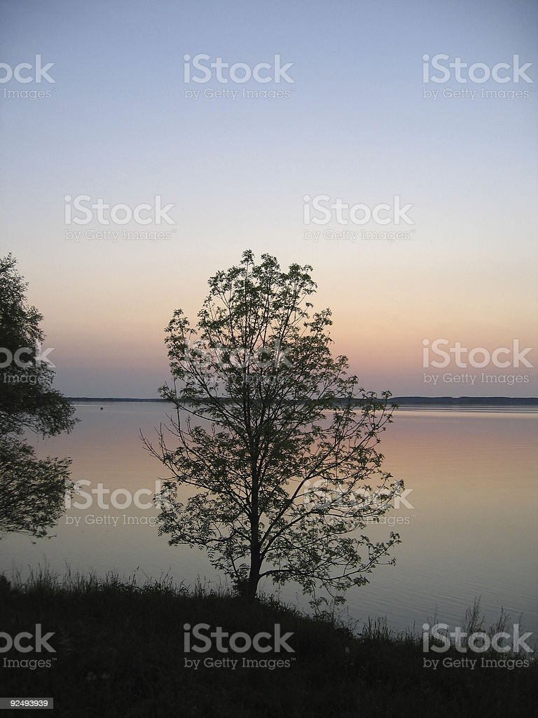 mazury lake royalty-free stock photo