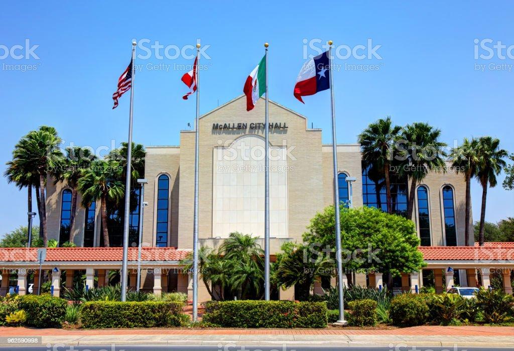 McAllen, Texas City Hall royalty-free stock photo