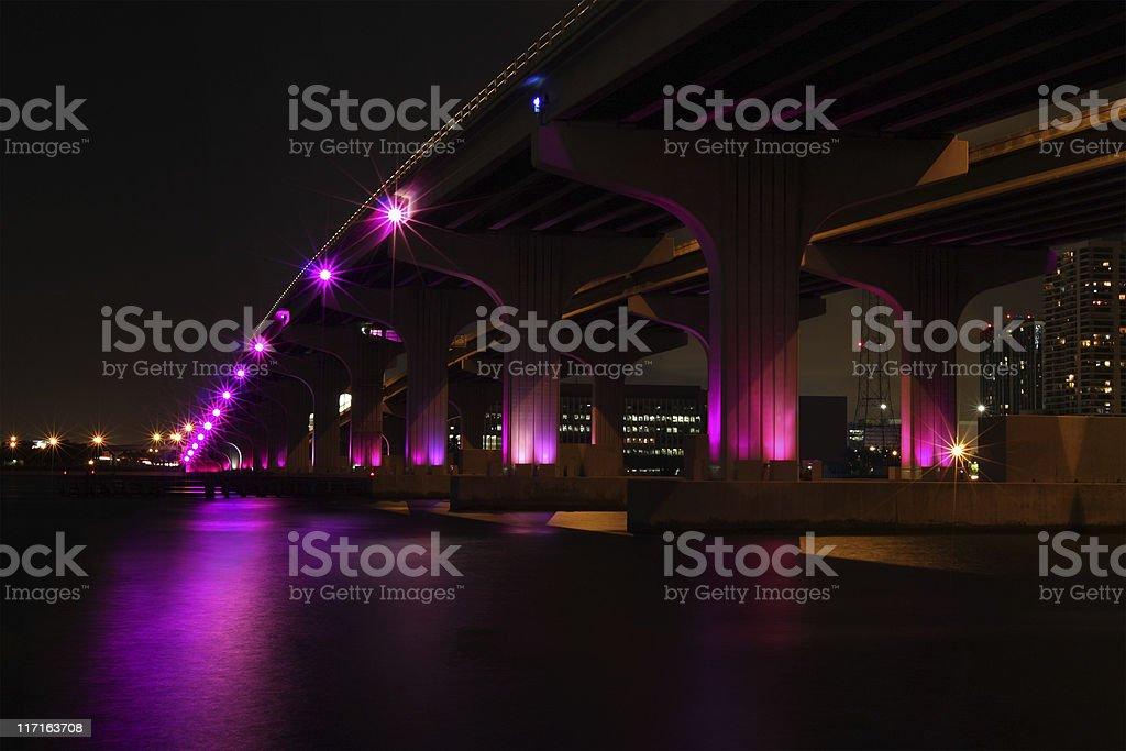 McArthur Causeway stock photo