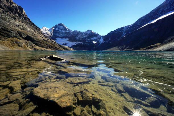 McArthur Lake, Alberta, Canada stock photo