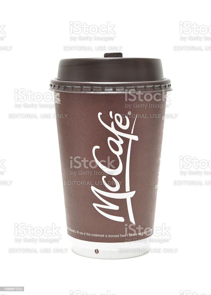 McCafe stock photo