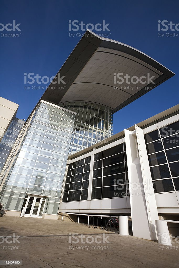 McCormick Place Chicago royalty-free stock photo