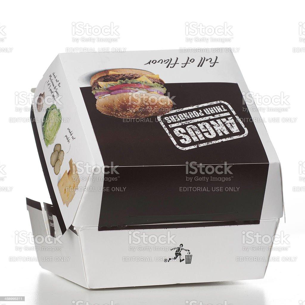 McDonalds Angus troisième Pounders Sandwich - Photo