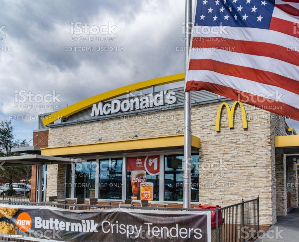 Mcdonalds Asheville North Carolina Stock Photo Download