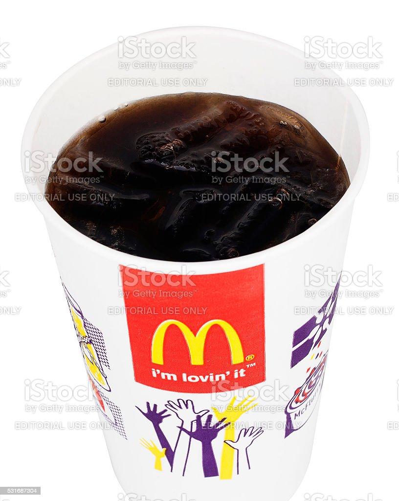 Mcdonalds Cupcoca Cola Stockfoto 531687304   iStock