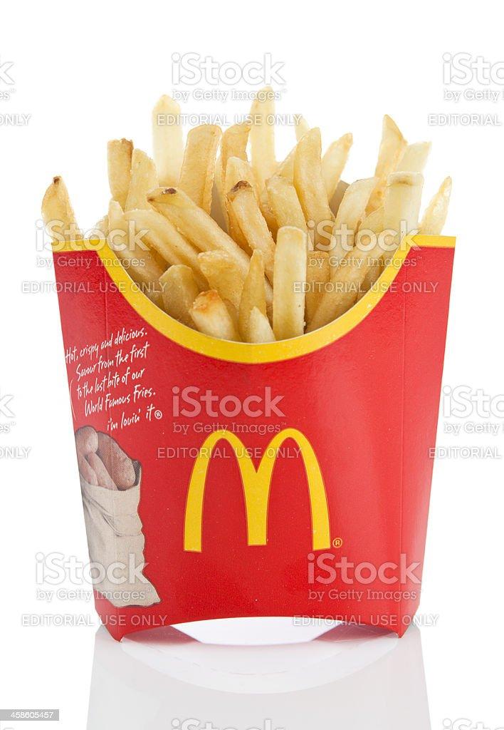McDonald's Fries royalty-free stock photo