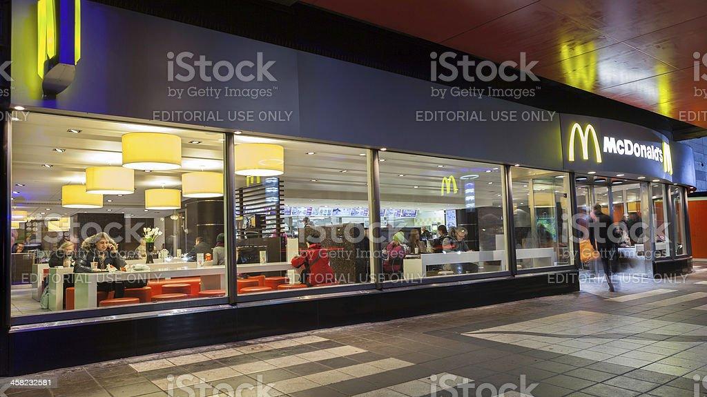mcdonalds mall of scandinavia