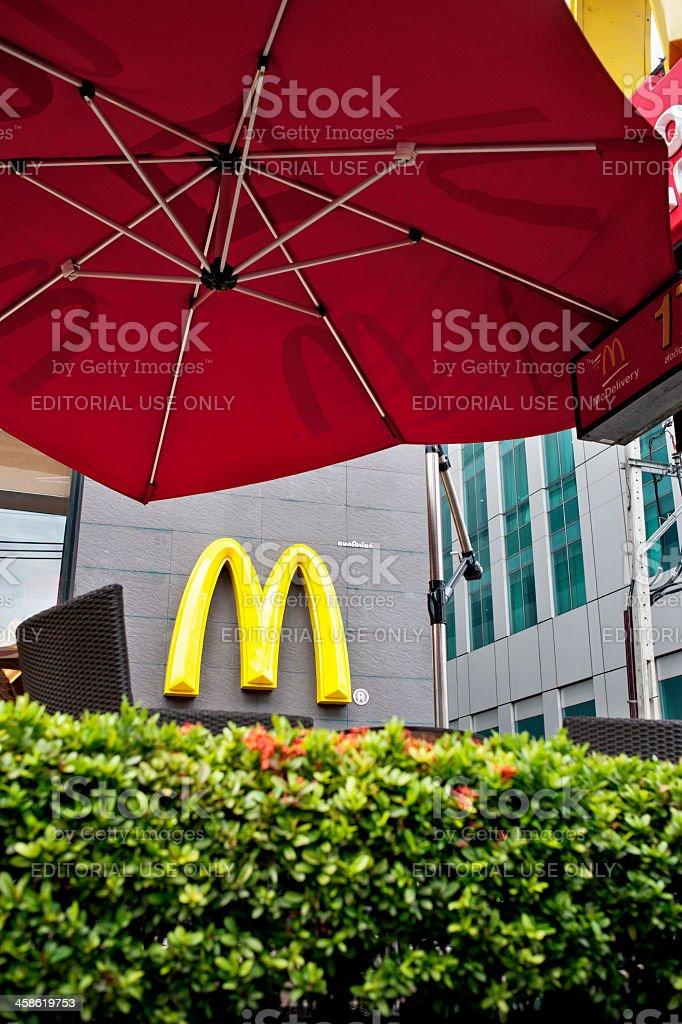 McDonalds Logo royalty-free stock photo