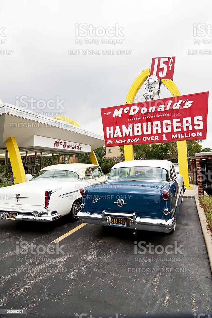 McDonald's Museum royalty-free stock photo