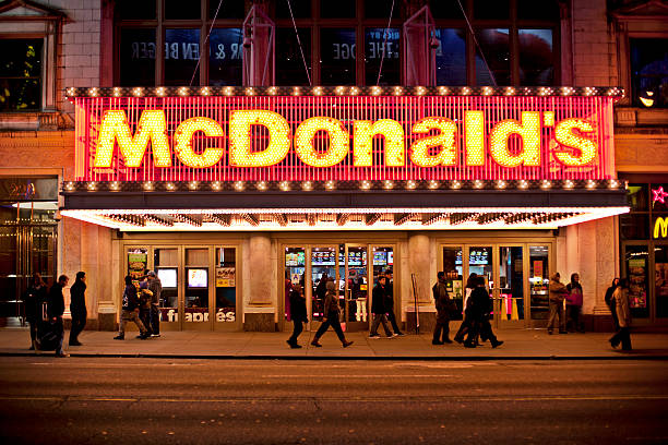 mcdonalds - mcdonalds zdjęcia i obrazy z banku zdjęć