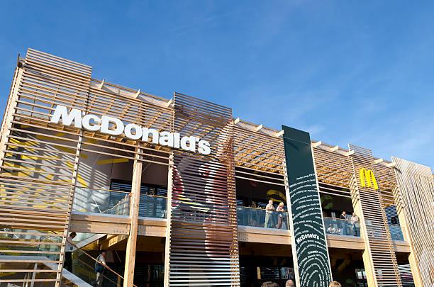 McDonald's'an die Olympischen Spiele 2012 in London – Foto
