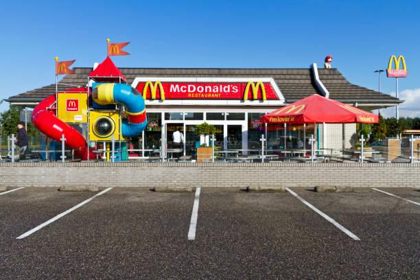 mcdonald's restaurant # 3 xxl - eindhoven city stockfoto's en -beelden