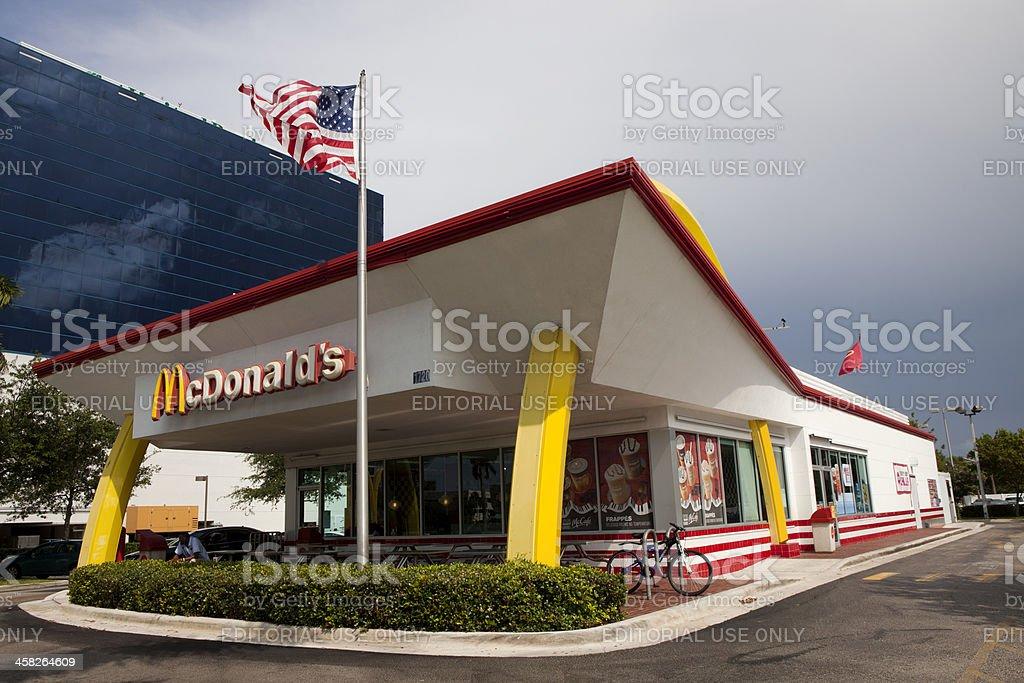 McDonald's Restaurants stock photo