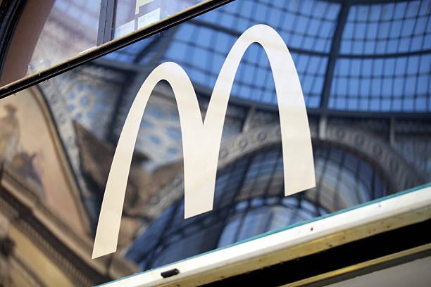 McDonalds-In Mailand – Foto