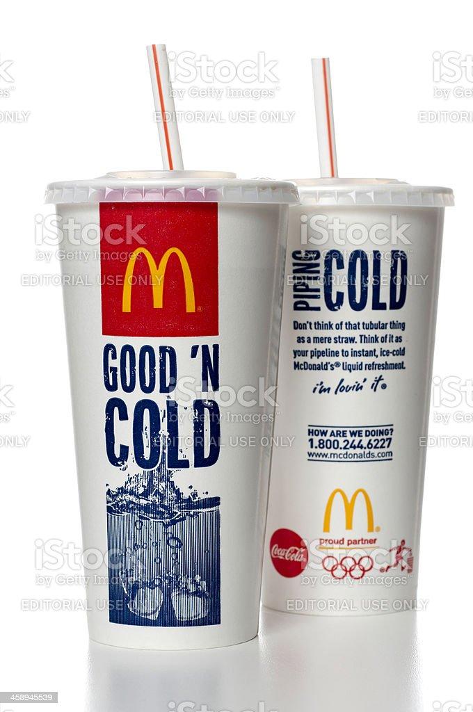 Mcdonalds Soda Körbchen Stock-Fotografie und mehr Bilder von ...