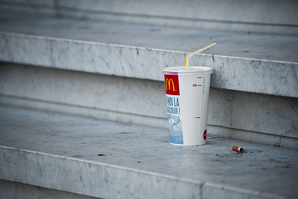 McDonalds Soft Drink Container – Foto
