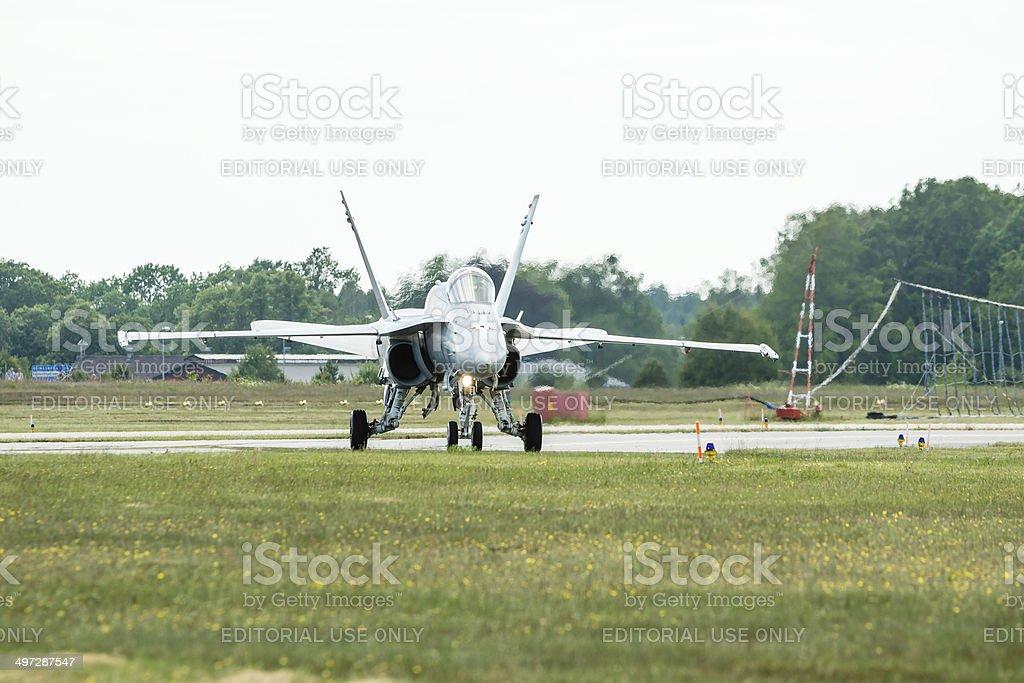 McDonnell Douglas F/A-18 Hornet stock photo