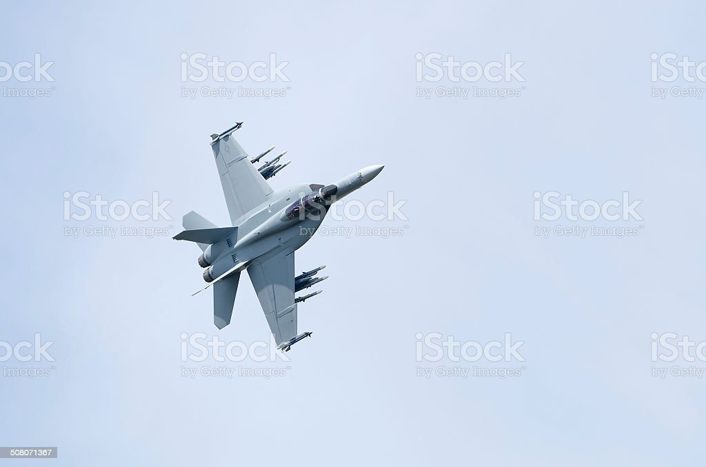 McDonnell Douglas F/A-18F Super Hornet stock photo