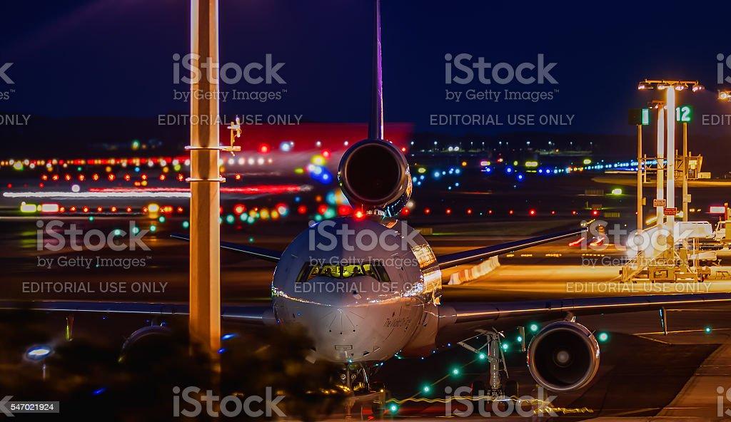 McDonnell Douglas MD-11 FedEx - foto de stock