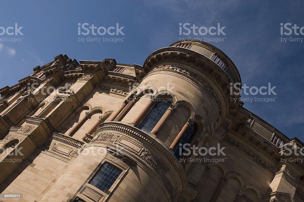 McEwan Hall - Edinburgh University stock photo