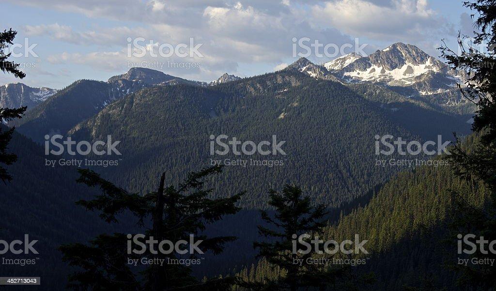 McGregor Mountain Majesty stock photo