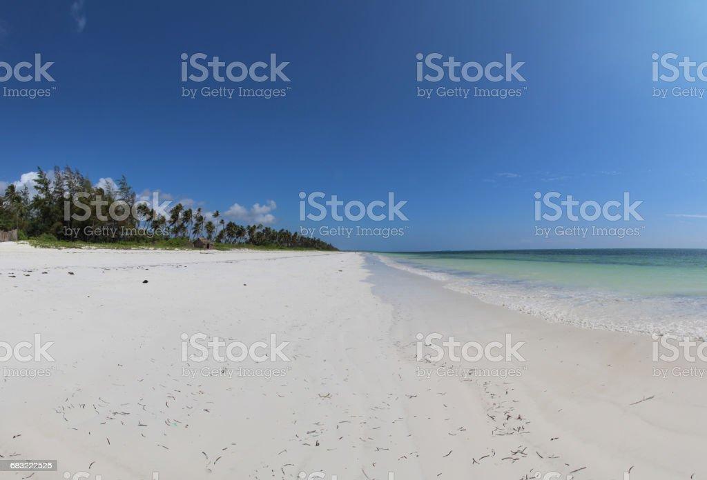 Mchanga Beach, Zanzibar, Indian Ocean, Africa foto de stock royalty-free