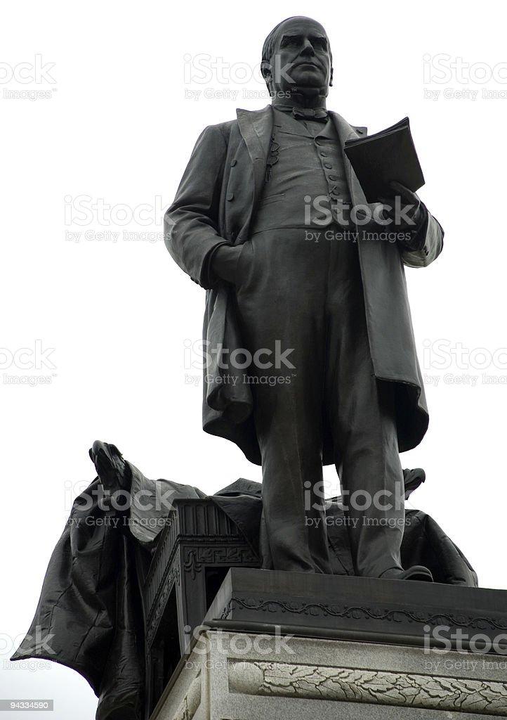 McKinley Monument in Canton, Ohio stock photo