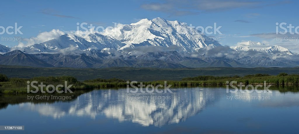 McKinley panorama stock photo