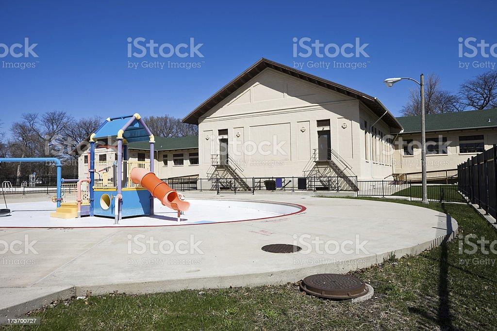 McKinley Park Swimming Pool royalty-free stock photo