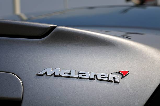McLaren name on a SLR