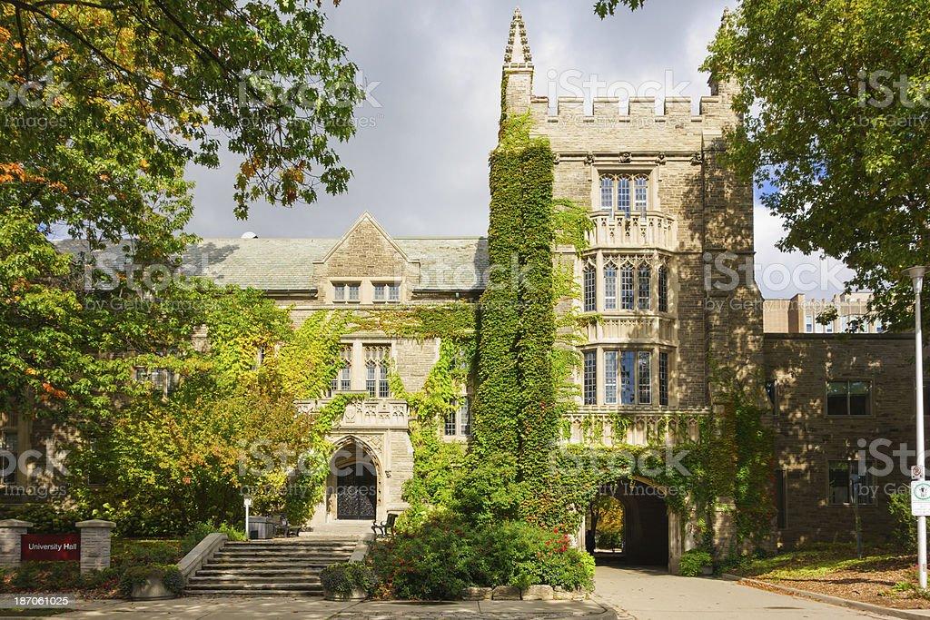 McMaster University, Hamilton, Ontario, Canada stock photo