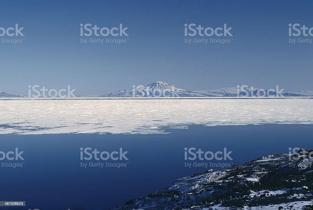 Mcmurdo Sound stock photo