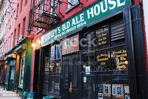 654490824 istock photo McSorley's Old Ale House 663390694
