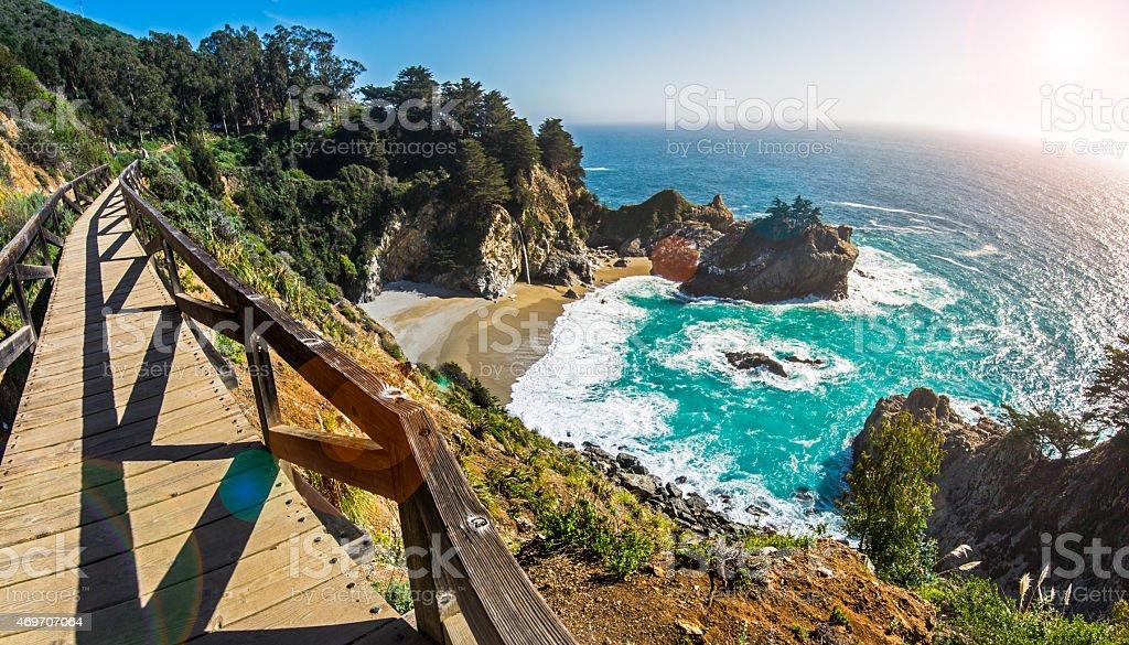 Mcway Fall, California stock photo