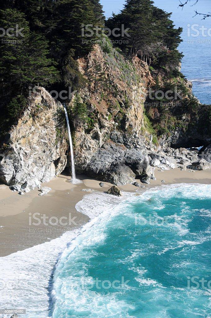 McWay Falls, California stock photo