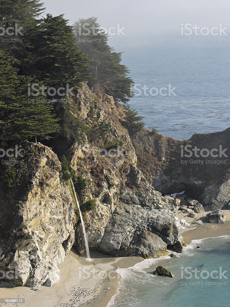 McWay Falls royalty-free stock photo
