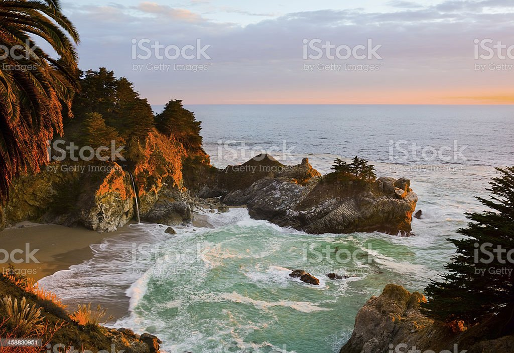 McWay Falls stock photo